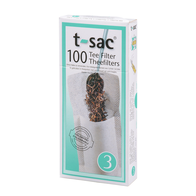 t-sac Teefilter Größe 3